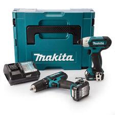 Makita CLX202AJ CXT 10.8v Twin Set 2 X 2.0ah Batteries
