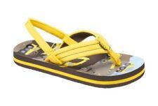 Scarpe sandali gialli per bambini dai 2 ai 16 anni gomma