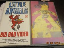THE BLACK CROWES + LITTLE ANGELS 2 vhs PAL. Great condition.