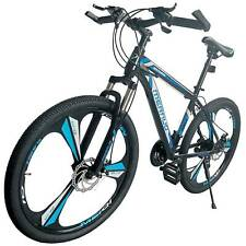 "26"" Front Suspension Mountain Bike 21 Speed City Bike Men's Bicycle Mtb New"