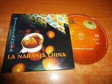 LA NARANJA CHINA Miscelandia CD ALBUM PROMO PORTADA DE CARTON DEL AÑO 2001