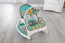 Fisher-Price Bouncers Newborn-to-Toddler Rocker, Glacier Wave   A