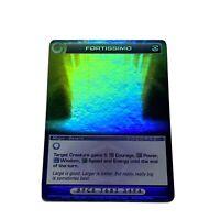 Chaotic Card Super Rare Fortissimo 167/232 TCG CCG