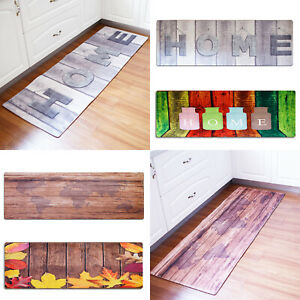 Non-Slip Kitchen Floor Mat Washable Machine Rug Door Large Runner  Carpe Hallway