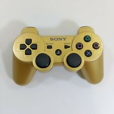 Genuine OEM Sony Playstation 3 PS3 Sixaxis DualShock 3 Gamepad - Gold - Tested