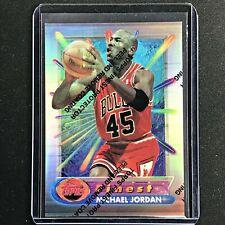 1994-95 Topps Finest MICHAEL JORDAN Silver Refractor #331 - Coating On (H)