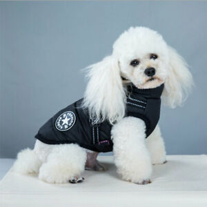 Winter Dog Jacket Vest Waterproof Thick Warm  Jackets Puppy Cat Coat Pet Apparel