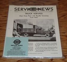 1933 Chevrolet Service News Magazine 12 Issues Jan-Dec Complete Year 33 Chevy