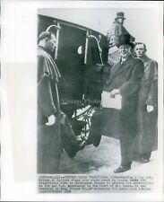 1950 Walter Gifford King George Vi Stage Coach London Royalty Wirephoto 8X10