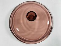 Pyrex Vision Corning Ware Cranberry Purple Glass Lid V1.5C Replacement