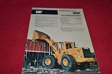 Caterpillar 966F Wheel Loader Waste Handler Dealer's Brochure DCPA8 ver7