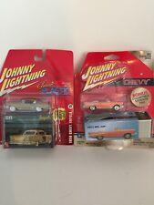 Johnny Lightning 57' Chevy Bel Air  58' Chevy Impala,  Vintage Art Storage