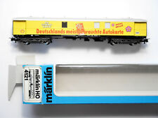 AUSSTELLUNGSWAGEN SHELL Personenwagen passenger car, Märklin #4121 1:87 H0 boxed