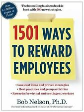 1501 Ways to Reward Employees, Nelson Ph.D., Bob, Good Book