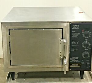 Nu-Vu XO-1 Commercial Moving Air Convection Oven Clean Ready For Work