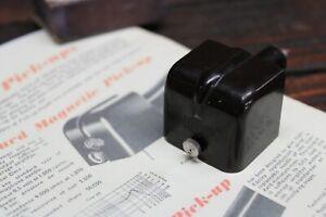 Vintage GARRARD Plug IN Pickup Record Player Gramophone Stylus Bakelite 78's