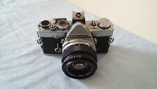 Olympus OM-1N SLR Fotocamera 35mm con Olympus Zuiko OM-System 1:1,8 LENTE 50mm