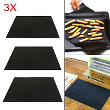 3 x UNIVERSAL Teflon Oven Cooker Liner Non Stick Heavy Duty Lining 40 x 50 cm