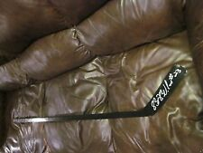 BRIAN BELLOWS SINGLE SIGNED AUTOGRAPHED HOCKEY STICK-CANADIENS-1000PTS
