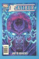 Excalibur (Vol.3) #2 Newsstand Edition Marvel Comics 2004 Chris Claremont X-Men
