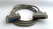 DB25 DSUB 25-pin Male to Female Serial / Parallel 2m Cable (D34)