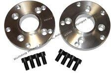 Bulldog Wheel Adaptors for allowing Volkswagen 4x100 to Porsche 5x130 set of 2