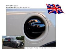 Mini Cooper 07-13 R55 R56 R57 R58 R59 R60 - Gloss Black Fuel Tank Cover Cap - UK