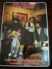 GLENROWAN, VIC - NED KELLY'S ANIMATED THEATRE -MUSICIANS VINTAGE 1980s POSTCARD