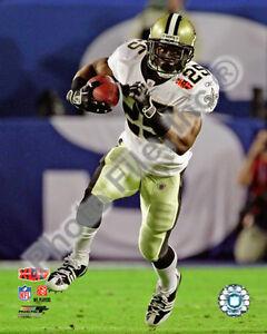 2010 NFL Super Bowl XLIV Reggie Bush Action Run 8 x 10 Photo New Orleans Saints