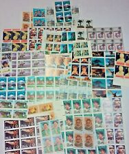 Unused new 120 Assorted Mixed, Multiples & Singles of 25¢ US PS Postage Stamps