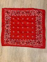 vintage fast color bandana