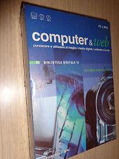 COMPUTER & WEB 2 CD ROM+BOOK N°23 EDITORIA DIGITALE E DTP BIBLIOTECA DIGITALE VI