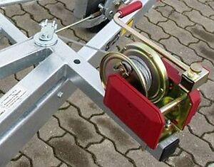 Umlenkrolle für 8 mm Stahldrahtseil / Seilwinde z.B. für Autotransporter