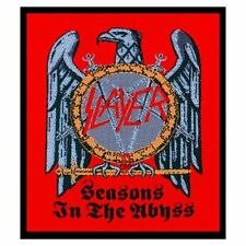 Slayer Seasons in The Abyss Album Cover Iron Sew on Patch Badge Eagle Official