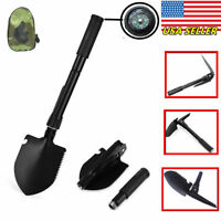 Multi-function Folding Camping Shovel Military Tactical Outdoor Survival Spade