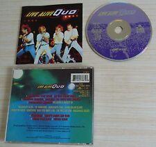 CD ALBUM LIVE ALIVE STATUS QUO 9 TITRES 1992