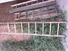 Scaletta In Legno Antica : Scala antica legno ebay