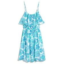 Lilly Pulitzer for Target Sea Urchin Flounce Ruffle Dress Women's Size Small
