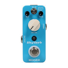 Mooer Audio Skyverb Electric Guitar Reverb Effect Pedal - Brand New!