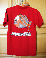 Cute & Cool ANGRY FISH T-SHIRT. HYPER CULT & DISSAPEARED BRAND! NEW OLD STOCK!