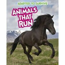 """VERY GOOD"" Adapted to Survive: Animals that Run, Royston, Angela, Book"