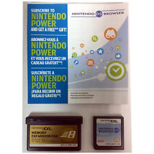 Nintendo Browser w/Memory Expansion Pak & Manual for DS & DS Lite