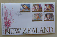 2014 NEW ZEALAND CHRISTMAS SET OF 5 STAMPS FDC FIRST DAY COVER