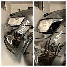 Jeep Grand Cherokee WK2 Headlight Side Marker BlackOut Laminate Die Cut Tint Kit