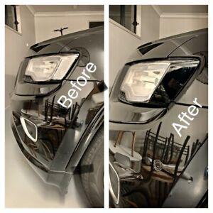 Fits Jeep Grand Cherokee WK2 Headlight Side Marker BlackOut Laminate DieCut Tint