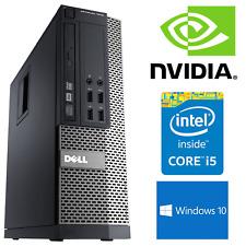 DELL Gaming PC Intel i5 8 GB 240 GB SSD Windows 10 NVIDIA GT 1030 piccoli computer