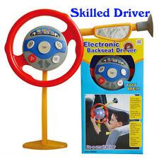 Kids Children Electronic Backbeat Driver Steering Wheel Pretend Toy