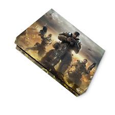 Gears of War  Xbox One X Skin Custom made Vinyl Sticker Decals, Uk