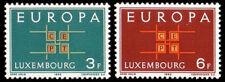 Luxembourg 1963 Mi 680-81 ** Europa Cept