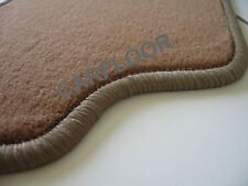 Fiat Idea Bj. ab 12.03 Fußmatten Velours  Deluxe savannenbeige